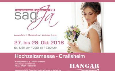 Hochzeitsmesse Crailsheim 27. und 28. Oktober 2018